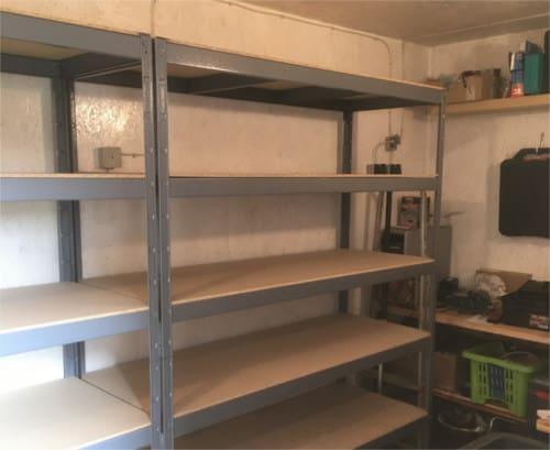 Aufbau der Indoor Farm